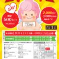 駅商組合「駅前得得チケット」販売します!!